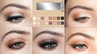 A Week of Eyeshadow | Lorac Pro Palette 3