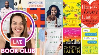 LIVE! What I've Read & Suggestions for Quarentine Book Binging | Sarah Rae Vargas