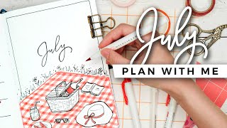 PLAN WITH ME | July 2020 Bullet Journal Setup