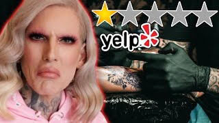 Getting A Tattoo from Yelp's WORST Rated Tattoo Shop
