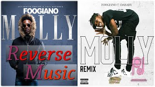 Foogiano - MOLLY (Remix) feat. DaBaby ( Reverse Music )