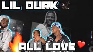 Lil Durk - All Love (Official Music Video)*REACTION*